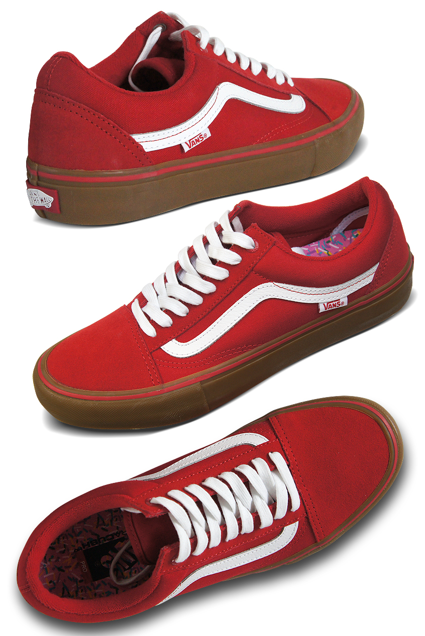 vans old skool damen braune sohle